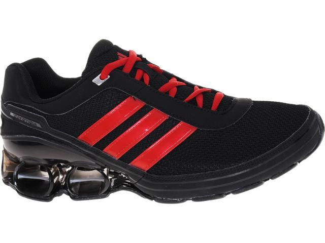 Tênis Masculino Adidas G62815 Devotion pb 3m Preto/vermelho