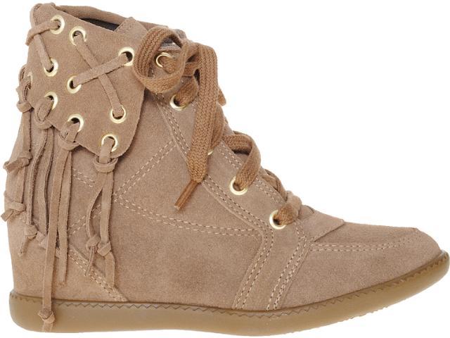 Sneaker Feminino Anna Brenner 1948 Castor
