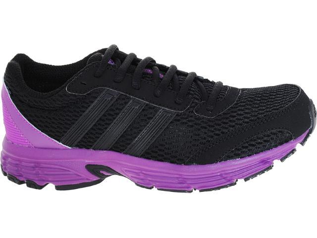 Tênis Feminino Adidas G61196 Vanquish 6w Preto/roxo