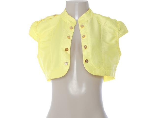 Bolero Feminino Dopping 014332501 Amarelo