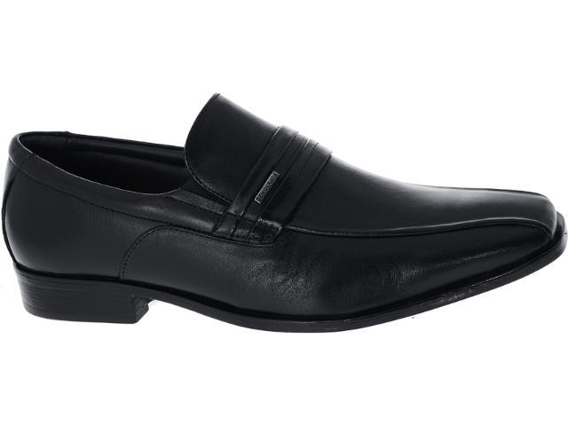 Sapato Masculino Democrata 13108 Preto