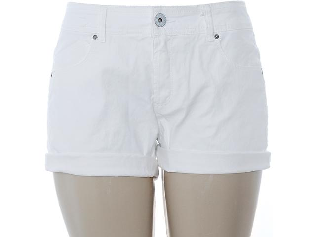 Short Feminino Dzarm Z6rv Snn0a Off White