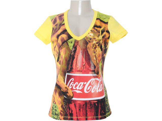 Blusa Feminina Coca-cola Clothing 343200628 Amarelo