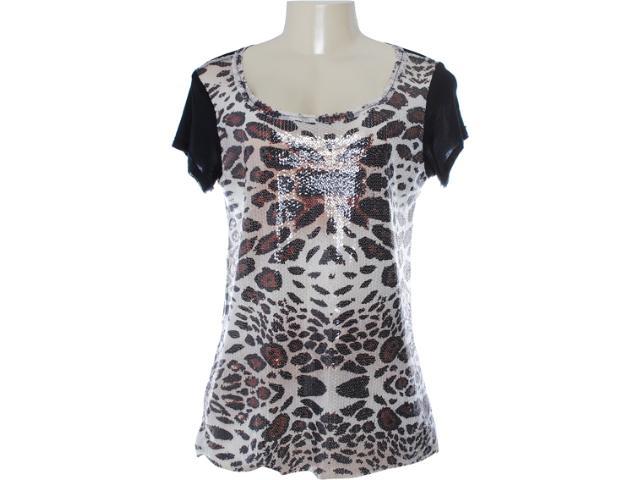 Camiseta Feminina Lafort 655 Preto