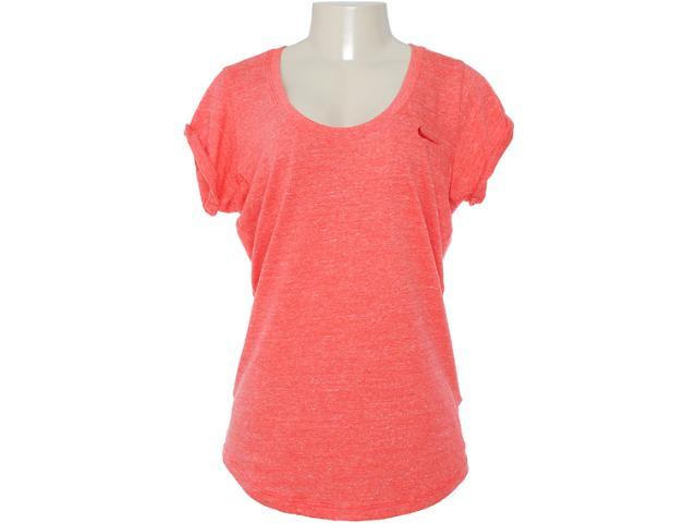 Camiseta Feminina Nike 481037-664 Tomate