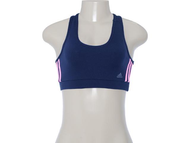 Top Feminino Adidas X54611 Marinho/rosa