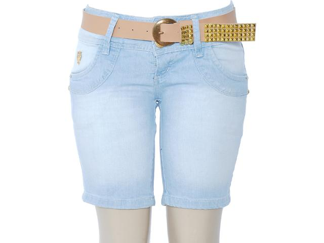 Bermuda Feminina Oppnus 461 Jeans