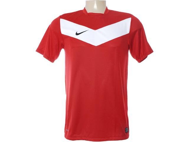 Camiseta Masculina Nike 413146-641 Vermelho/branco