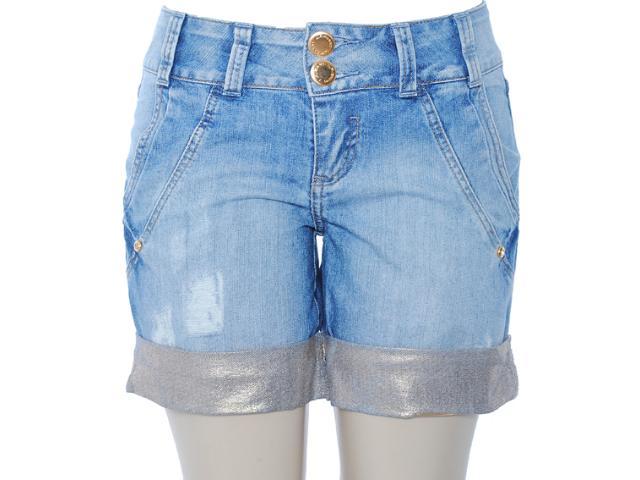 Short Feminino Lado Avesso 80383 Jeans