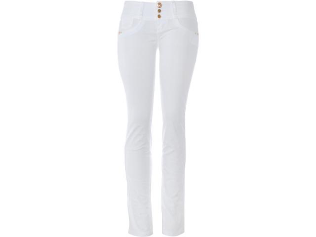 Calça Feminina Lado Avesso 80113b Branco