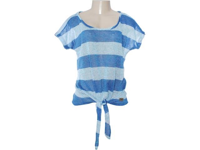 Blusa Feminina Lado Avesso 80465 Azul Aquatico