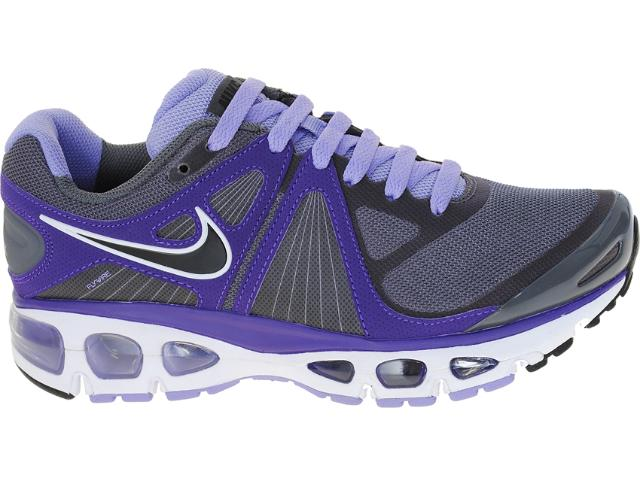Tênis Feminino Nike 453975-015 Air Max Tailwind+4 Chumbo/lilas