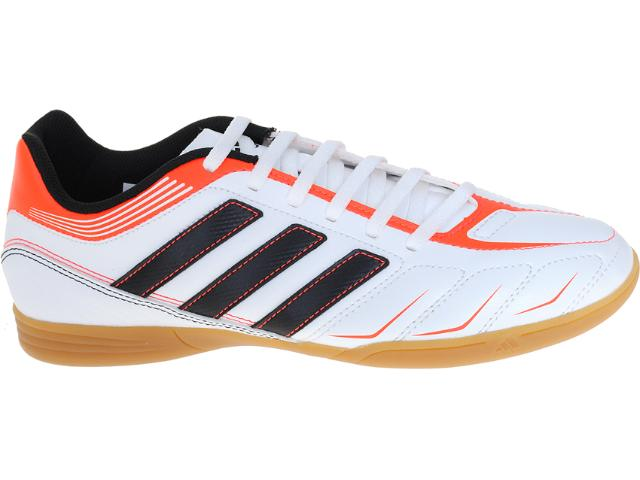 Tênis Masculino Adidas G60099 Ezeiro Iii in Branco/laranja/preto