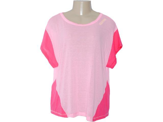 Camiseta Feminina Coca-cola Clothing 343200574 Rosa Claro