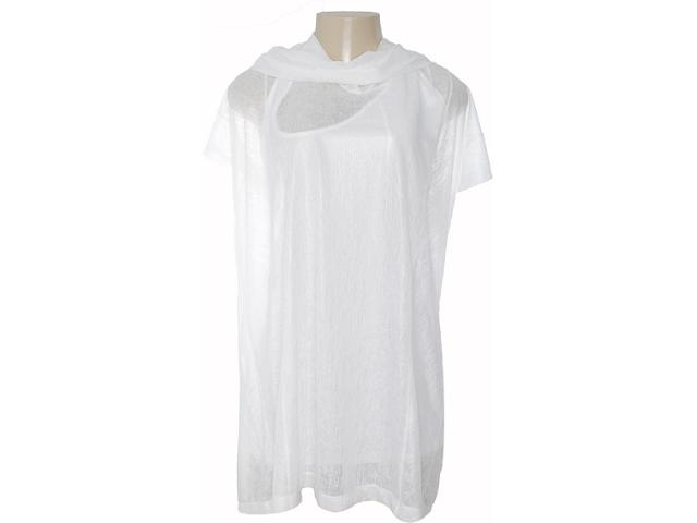Vestido Feminino Coca-cola Clothing 443201141 Off White