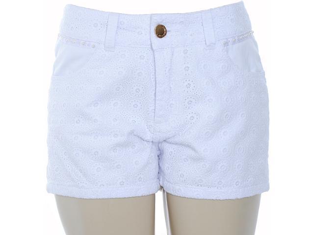 Short Feminino Lado Avesso 80239 Branco