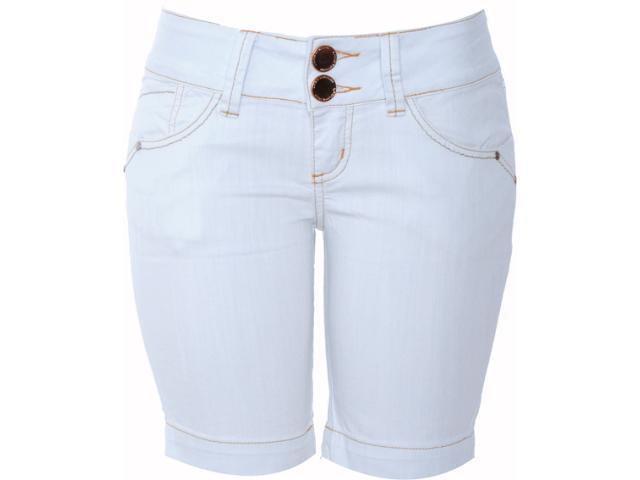 Bermuda Feminina Lado Avesso 80159 Jeans