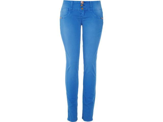 Calça Feminina Lado Avesso 80113c Azul Aquatico