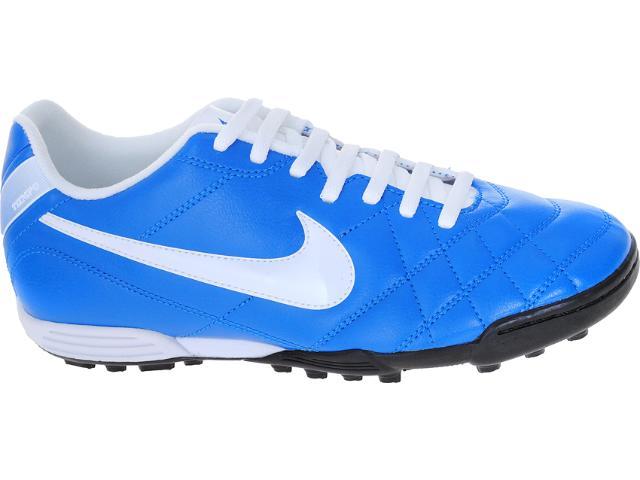Tênis Masculino Nike 509040-419 Tiempo Rio tf Azul/branco