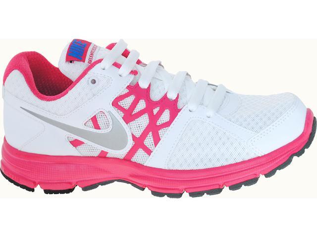 Tênis Feminino Nike 512084-101 Air Relenteles  2 Msl Branco/pink