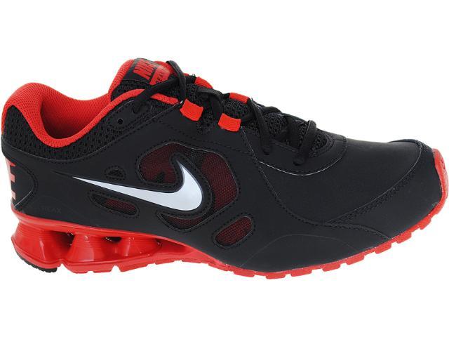 Tênis Masculino Nike 536809-004 Reax 7 tr Lea Preto/vermelho