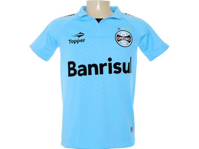 Camiseta Masculina Grêmio C1096m Celeste