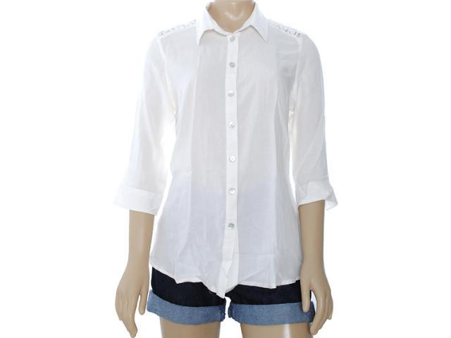 Camisa Feminina Intuição 122604 Off White