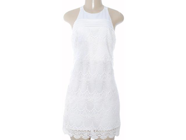 Vestido Feminino Moikana 8050 Off White