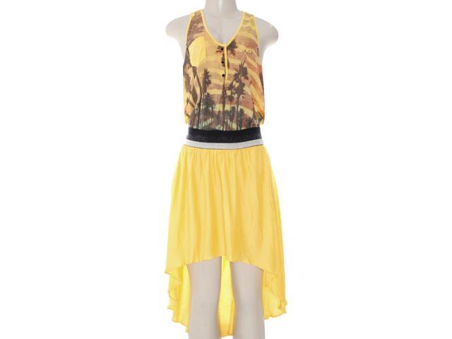Vestido Feminino Moikana 8053 Amarelo