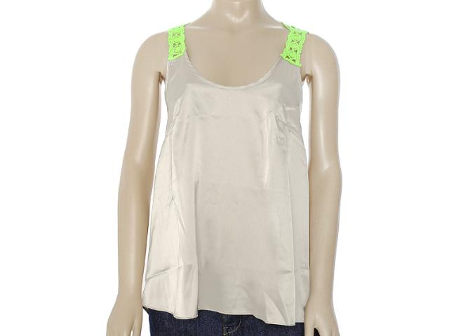 Camisa Feminina Moikana 8137 Caqui