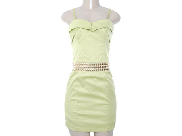 Vestido Feminino Lado Avesso 80545 Verde Lima