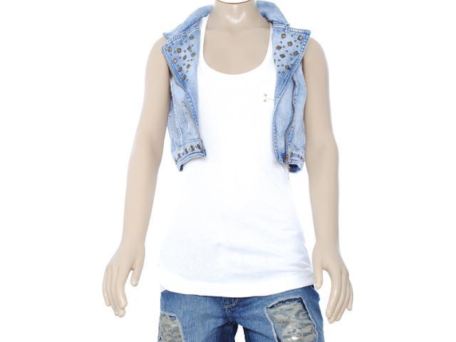 Colete Feminino Lado Avesso 80285 Jeans