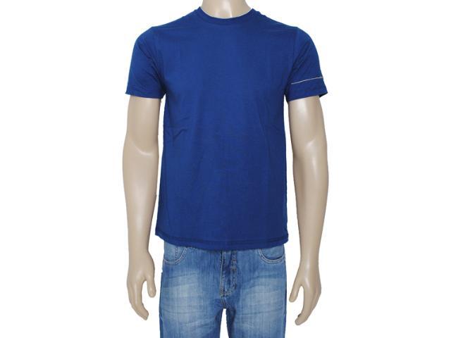 Camiseta Masculina Dzarm 6blp Au410 Marinho