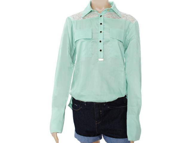 Camisa Feminina Moikana 8162 Verde