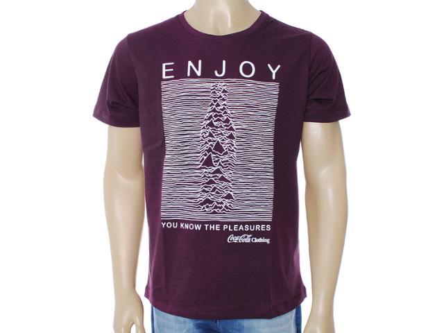 Camiseta Masculina Coca-cola Clothing 353203208 Uva
