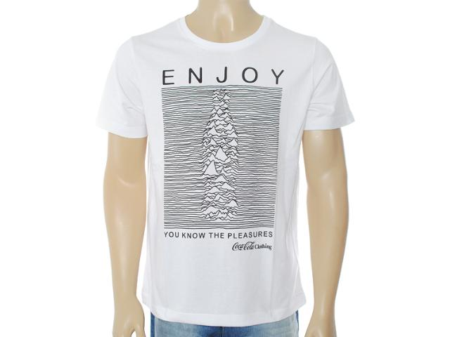 Camiseta Masculina Coca-cola Clothing 353203208 Branco