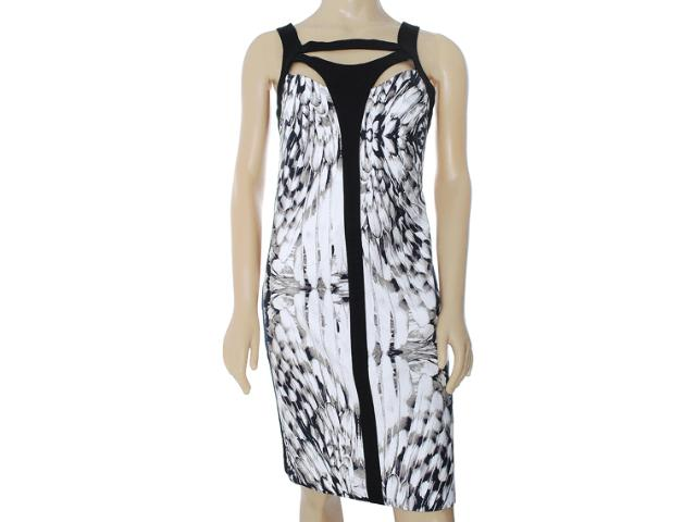 Vestido Feminino Lafort E13v685 Branco Estampado