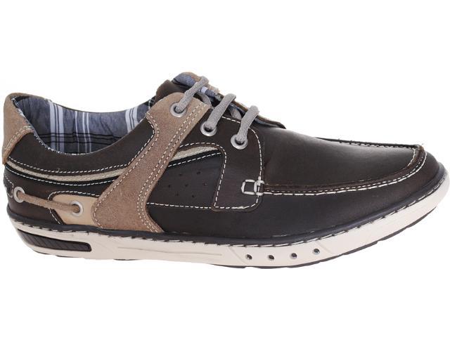 Sapato Masculino Pegada 12102-7 Chocolate