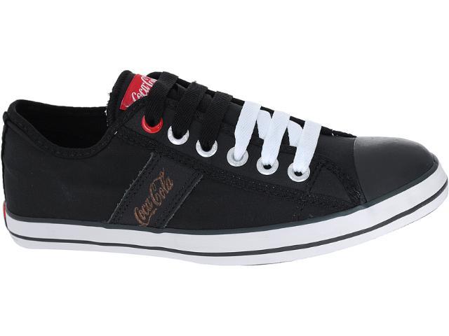 Tênis Masculino Coca-cola Shoes Cc0212 Preto