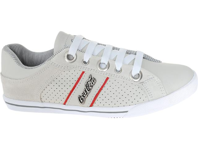 Tênis Masculino Coca-cola Shoes Cc0208 Off White