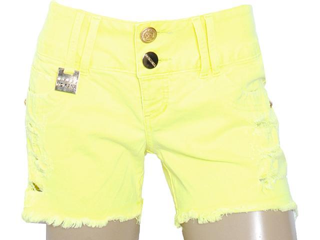 Short Feminino Moikana 8312 Amarelo
