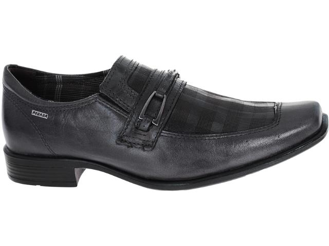 Sapato Masculino Pegada 21105-6 Grafite