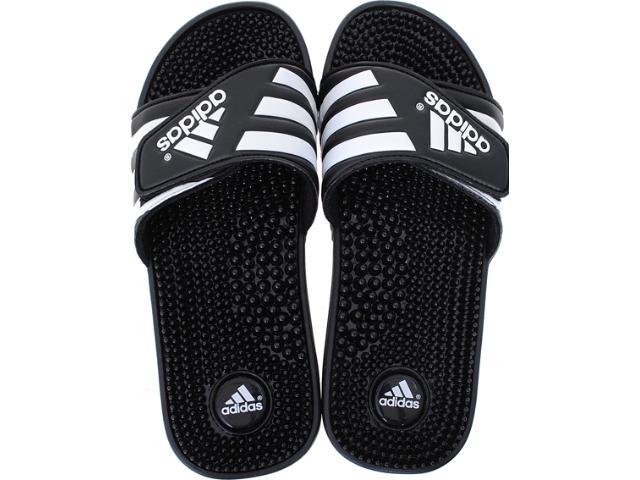 Chinelo Masculino Adidas 78260 Adissage Preto/branco