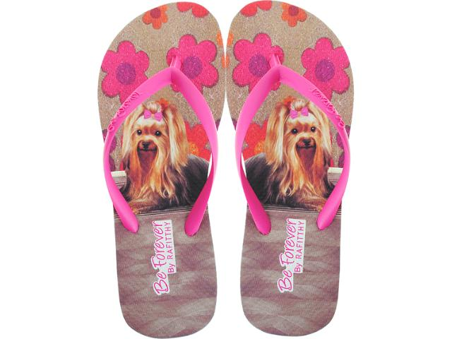 Chinelo Feminino Rafitthy 11.31701 York Carpet Off Pink