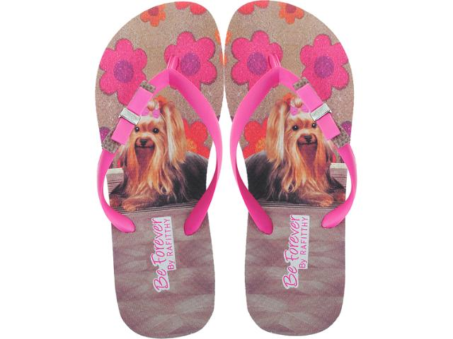 Chinelo Feminino Rafitthy 11.31702 York Carpet Off Pink