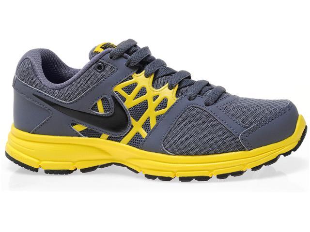 Tênis Masculino Nike 511915-009 Air Relentless 2 Msl Chumbo/amarelo