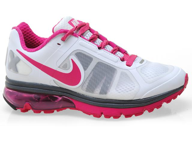 Tênis Feminino Nike 539932-100 Air Max Finale + Branco/pink