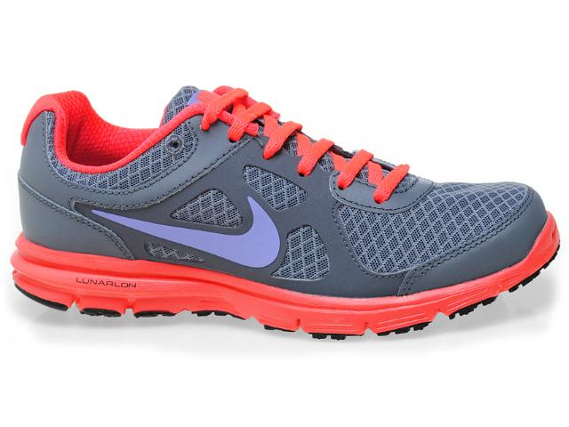 Tênis Feminino Nike 488164-012 Lunar Forever Cinza/coral/lilas