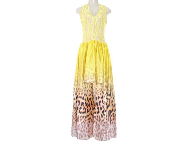 Vestido Feminino Moikana 8085 Amarelo