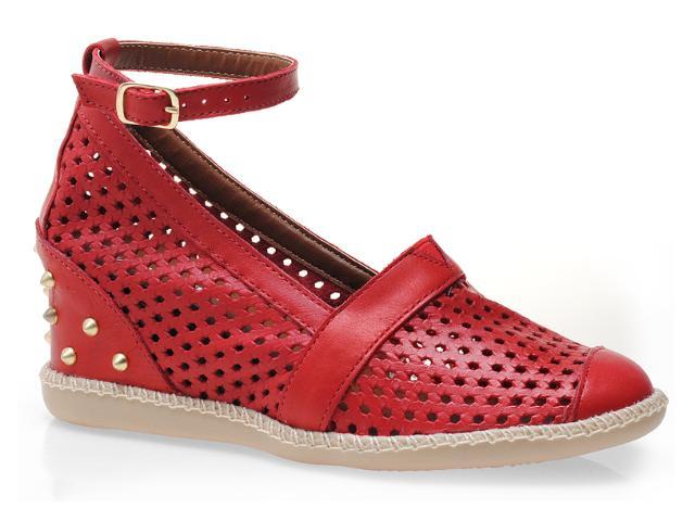 Summer Sneaker Feminino Anna Brenner 1005 Vermelho
